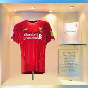 Alex Oxlade-Chamberlain Match Worn FIFA Club World Cup Final Liverpool Shirt 2019
